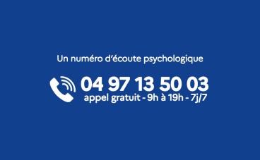 COVID-19 - Un soutien psychologique pour les habitants de la région Paca