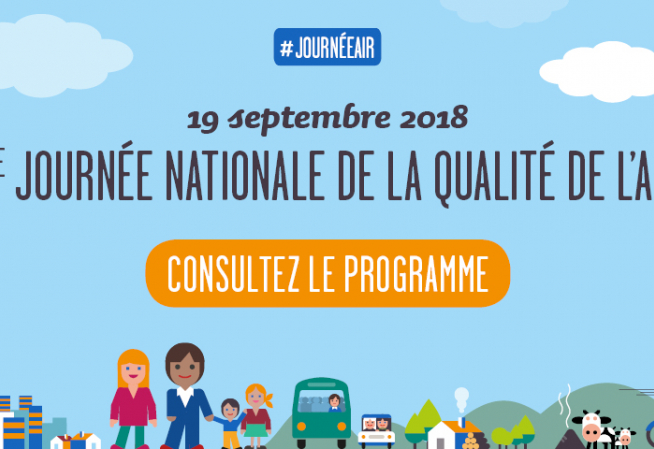 Journée nationale qualité de l'air - 19 septembre 2018