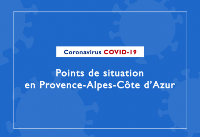 Points de situation COVID Paca