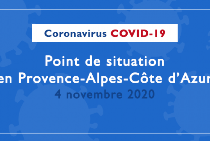 Point de situation régional 4 novembre